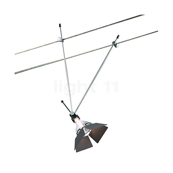 Bruck Highline cable system Krokomobil 250 with glare shield, 10m, with transformer
