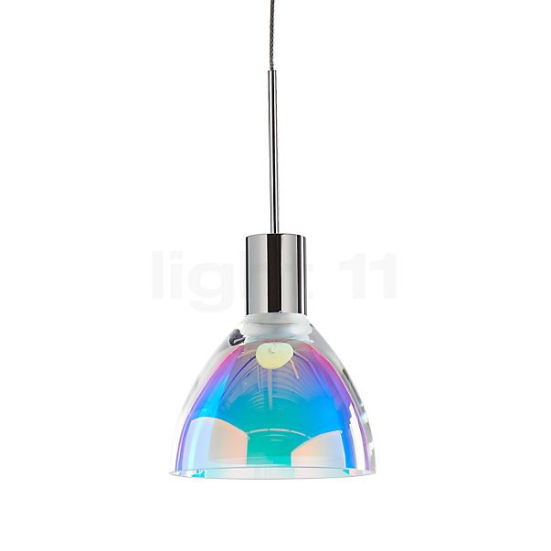 Bruck Silva Neo 110 Down Pendelleuchte LED, Chrom glänzend