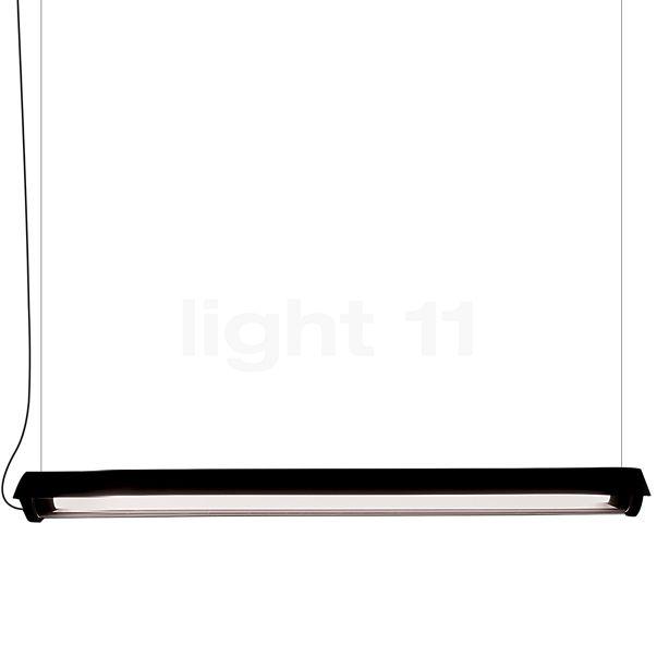 DCW In The Tube 360° - 1600 Pendelleuchte LED mit Flügelblende