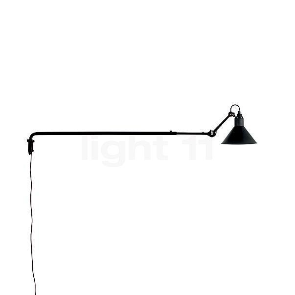 DCW Lampe Gras No 213 Wandleuchte schwarz