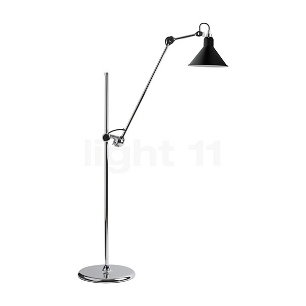 DCW Lampe Gras No 215 Stehleuchte Chrom