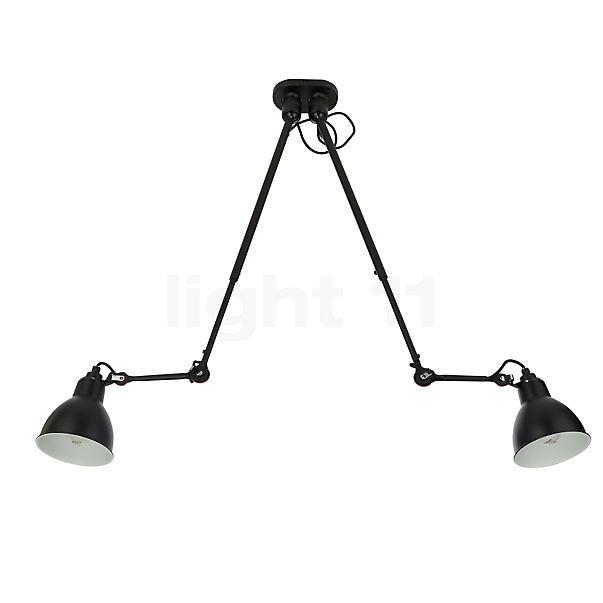 DCW Lampe Gras No 302 Double Ceiling Light in the 3D viewing mode for a closer look