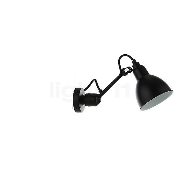 DCW Lampe Gras No 304 Lampada da parete nera - visualizzabile a 360° per una visione più attenta e accurata