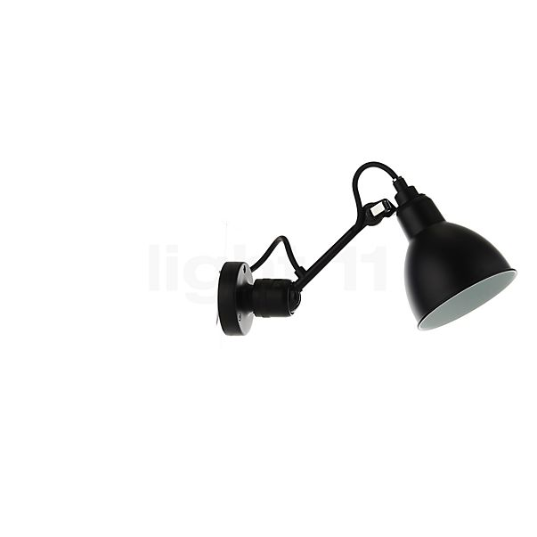 DCW Lampe Gras No 304 Wall light black in the 3D viewing mode for a closer look