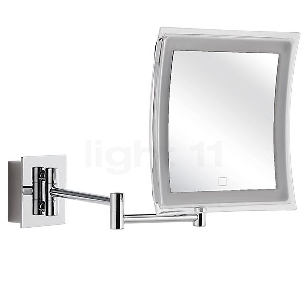 Decor Walther BS 85 Touch Miroir de maquillage mural LED