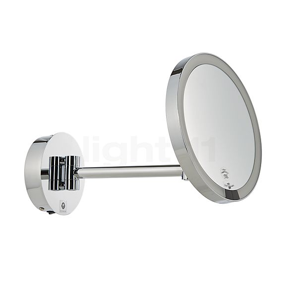 Decor Walther Just Look Wall-Mounted Cosmetic Mirror LED with direct mains connection