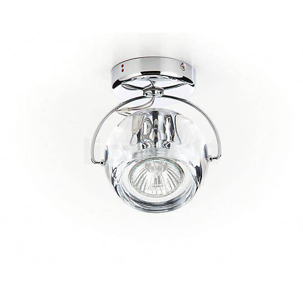 Fabbian Beluga Colour, lámpara de techo y pared de 1 foco - descubra cada detalle con la vista en 3D