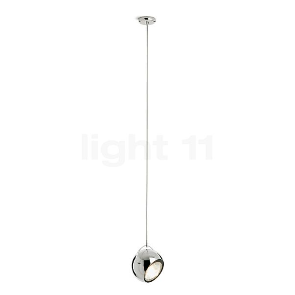 Fabbian Beluga Steel Pendelleuchte ø14 cm