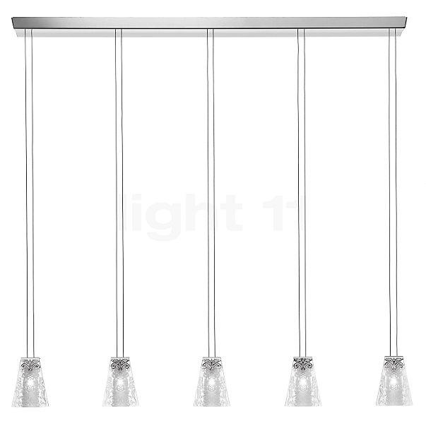 Fabbian Vicky Pendant Light 5 lamps