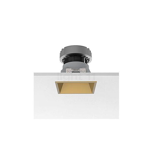 Flos Architectural Easy Kap 80 Plafondinbouwlamp vierkant LED