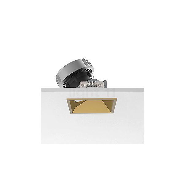 Flos Architectural Easy Kap 80 Plafondinbouwlamp vierkant LED Wallwasher