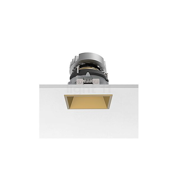 Flos Architectural Easy Kap 80 Plafondinbouwlamp vierkant instelbaar LED