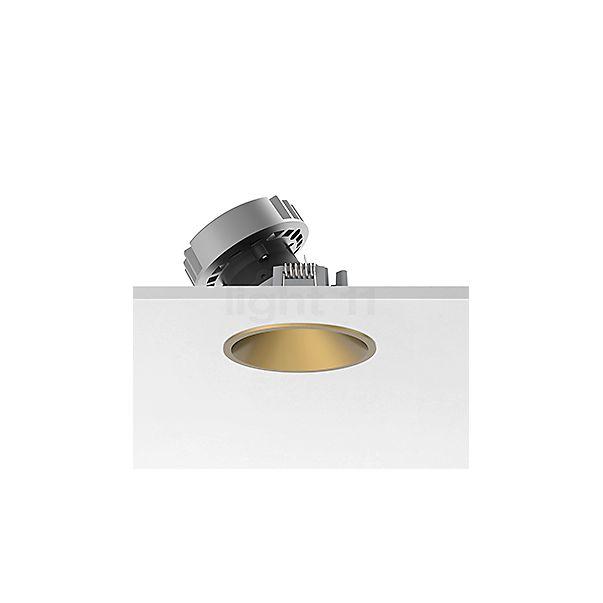 Flos Architectural Easy Kap 80 Plafonnier encastré rond LED Wallwasher