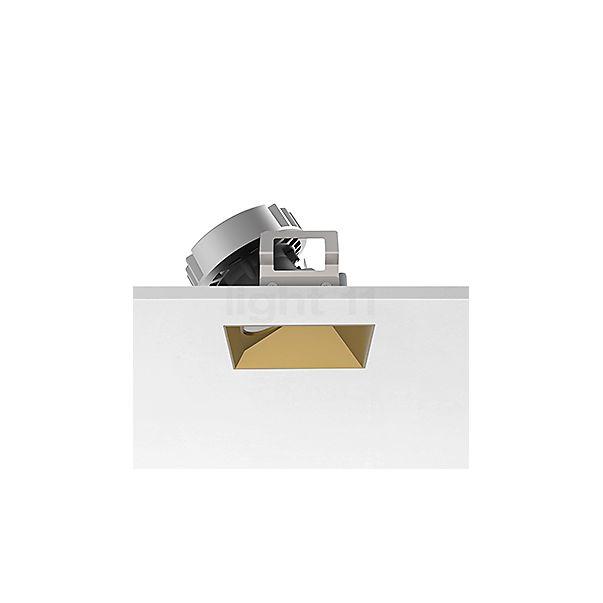 Flos Architectural Kap 80 Plafondinbouwlamp vierkant LED Wallwasher