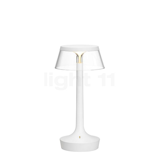 Flos Bon Jour Unplugged white with Touch Dimmer