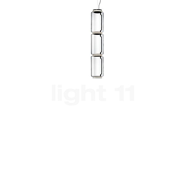 Flos Noctambule Low Cylinders, lámpara de suspensión LED