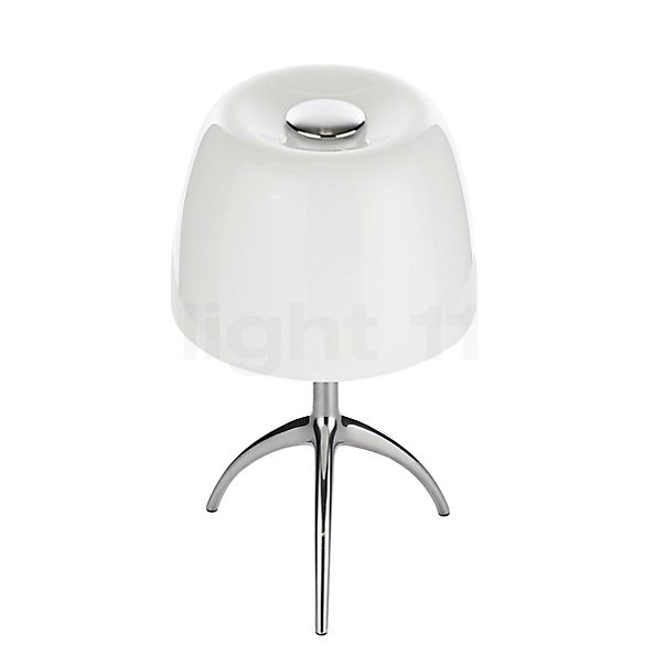 Foscarini Lumiere Tavolo piccola G9 with switch in the 3D viewing mode for a closer look