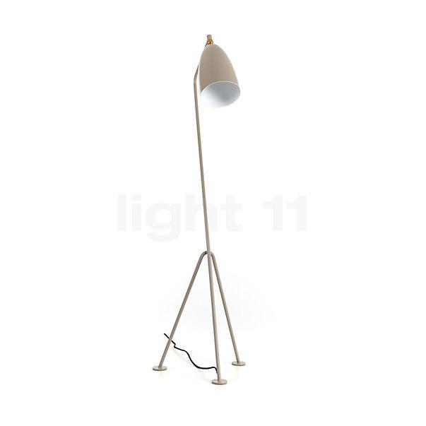 Gubi Gräshoppa, lámpara de pie - descubra cada detalle con la vista en 3D