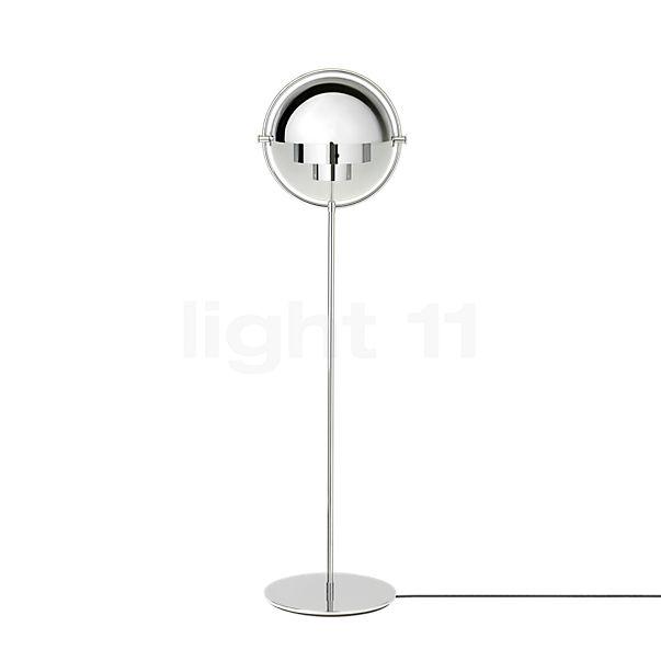 Gubi Multi-Lite Vloerlamp chroom