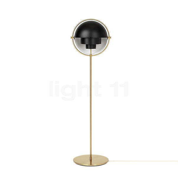 Gubi Multi-Lite, lámpara de pie latón