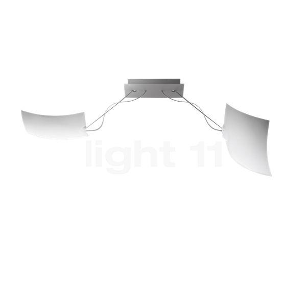 Ingo Maurer 2 x 18 x 18 Plafond-/Wandlamp LED