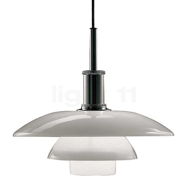 Louis Poulsen PH 4½-4 Hanglamp met glazen kap