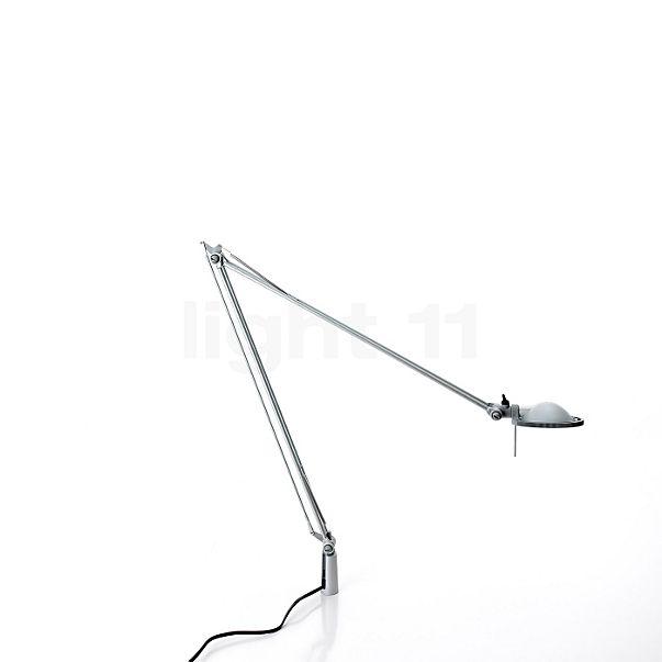 Luceplan Berenice Tavolo alluminio con perno di fissaggio