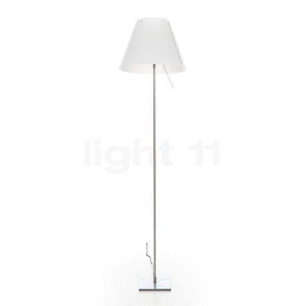 Luceplan Costanza Terra aluminium vaste lamp met schakelaar in 3D aanzicht voor meer details