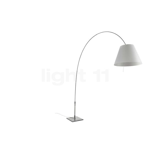 Luceplan Lady Costanza with Aluminium Stem and Touch Dimmer in the 3D viewing mode for a closer look