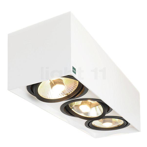 Mawa 111er angular Ceiling Light 3 lamps LED HV
