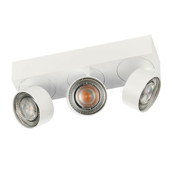 Mawa Wittenberg 4.0 Ceiling Ligh with three spots LED in the 3D viewing mode for a closer look