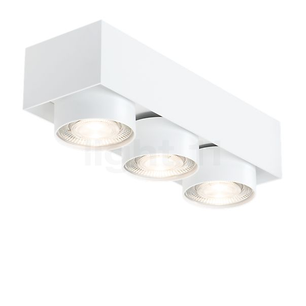 Mawa Wittenberg 4.0 Ceiling Light semi-flush with three spots LED