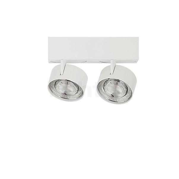 Mawa Wittenberg 4.0 Ceiling Light with two spots LED in the 3D viewing mode for a closer look