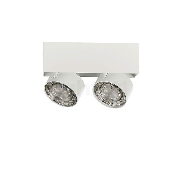 Mawa Wittenberg 4.0 LED, lámpara de techo con 2 focos semi-empotrados - descubra cada detalle con la vista en 3D