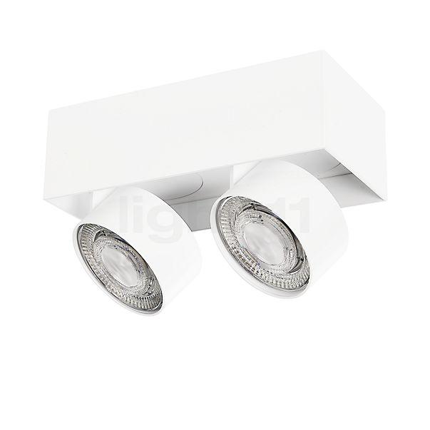 Mawa Wittenberg 4.0 LED, lámpara de techo con 2 focos semi-empotrados