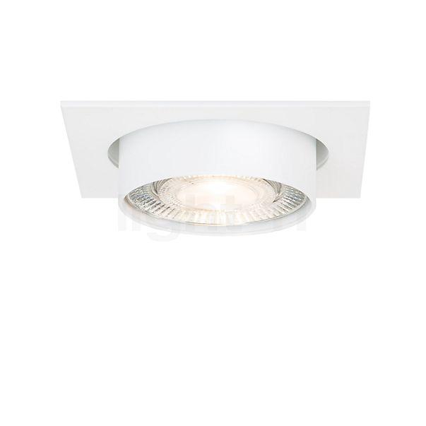 Mawa Wittenberg 4.0, lámpara de techo empotrable cuadrangular LED sin transformador