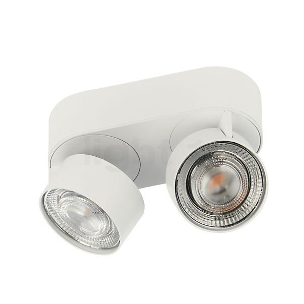 Mawa Wittenberg 4.0, lámpara de techo ovalada 2 focos LED - descubra cada detalle con la vista en 3D
