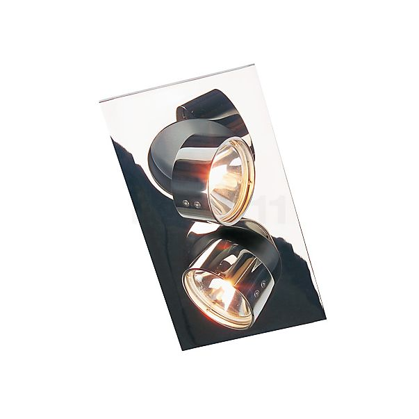 Mawa Wittenberg Plafondinbouwlamp hoekig 2-lichts