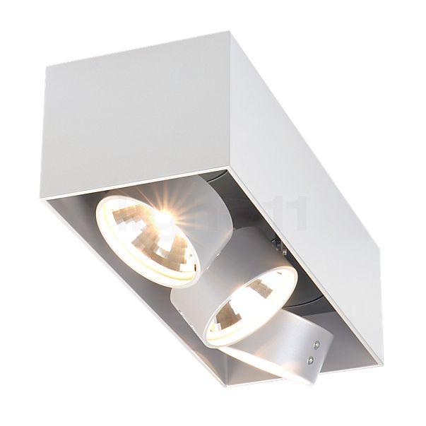 Mawa Wittenberg, lámpara de techo a ras del marco 3 focos