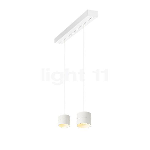 Oligo Tudor, lámpara de suspensión S LED de 2 focos