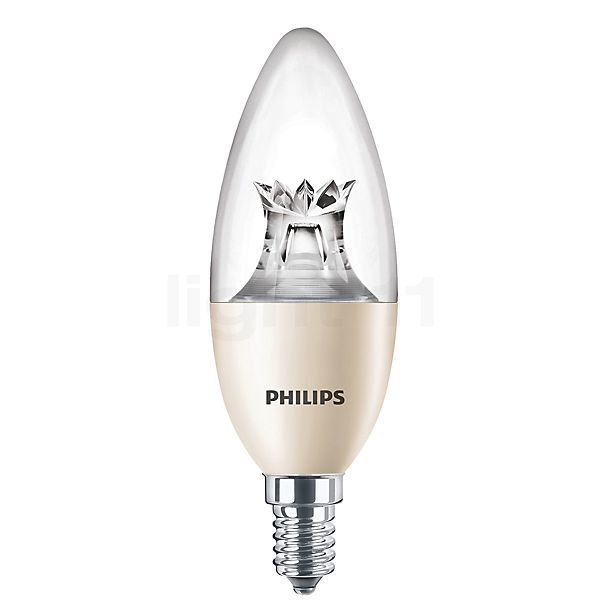Philips C40-dim 8W/c 827, E14 WarmGlow