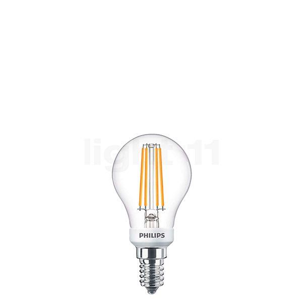 Philips D45-dim 5W/c 827, E14 LEDClassic Filament