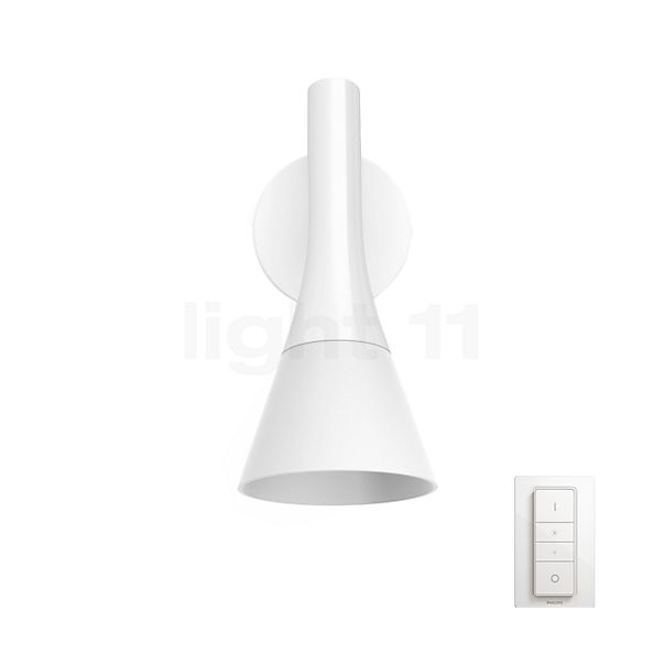 Philips Hue Explore Wandleuchte LED inkl. Dim Switch