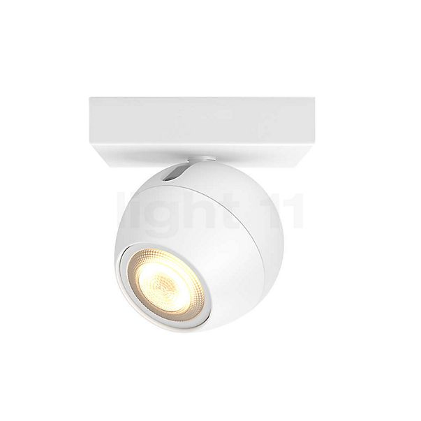 Philips Hue White Ambiance Buckram Spot 1-flamme + Dim Switch