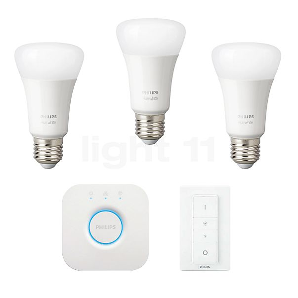 Philips Hue White Starter Set, E27