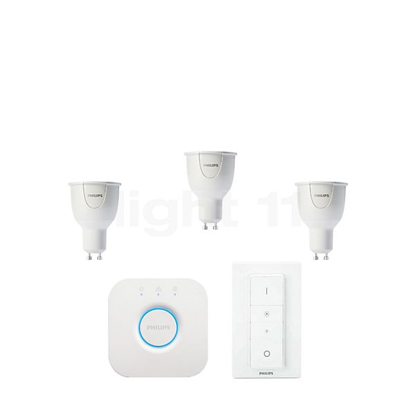 Philips Hue White and Color Ambiance Starter-Set, GU10
