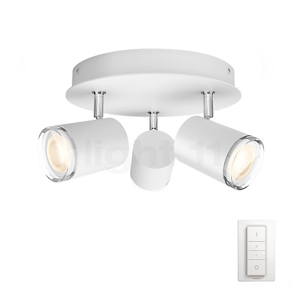 Philips hue Adore Spot LED rond 3-lichts