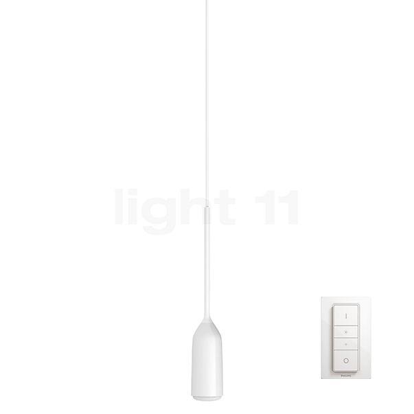 Philips hue Devote Pendelleuchte LED inkl. Dim Switch