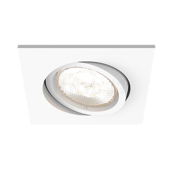 Philips myLiving LED Recessed Spotlight Shellbark, square
