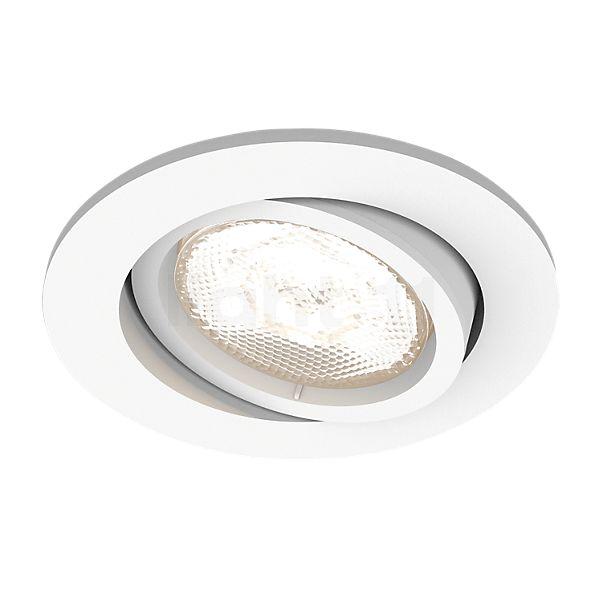 Philips myLiving LED Shellbark Inbouwspot rond